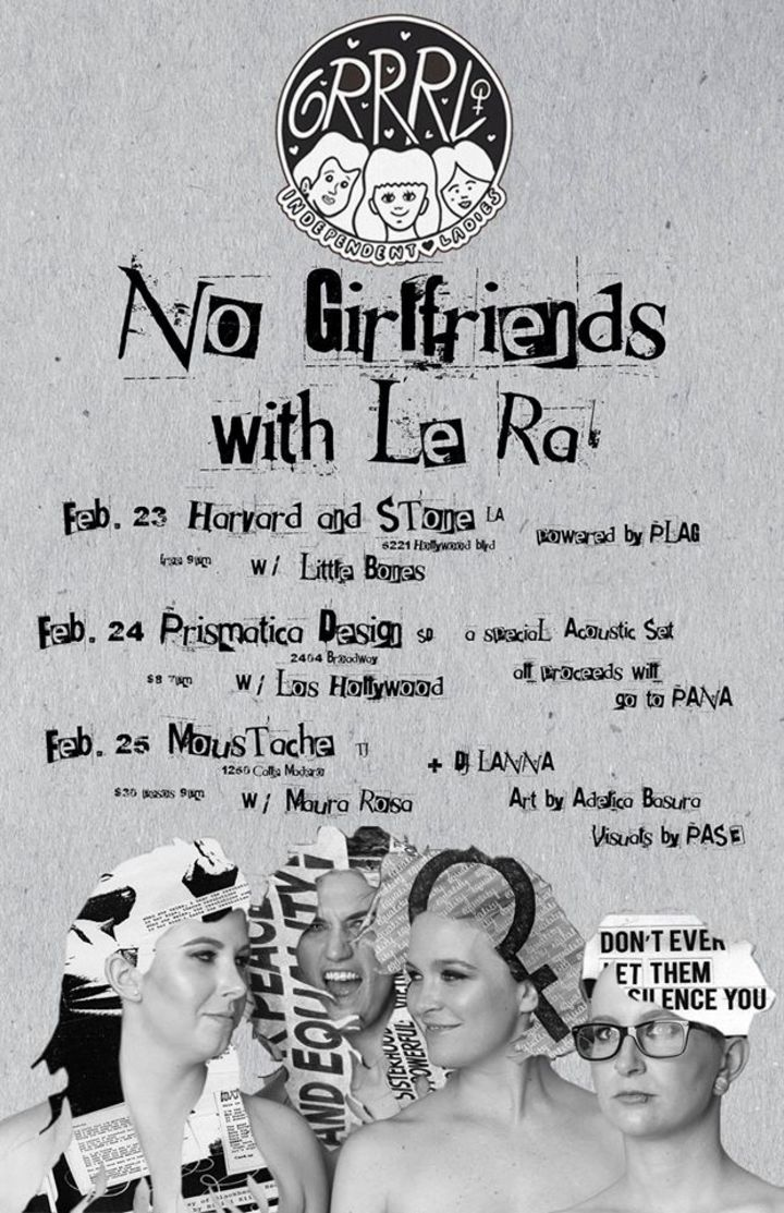 No Girlfriends Tour Dates