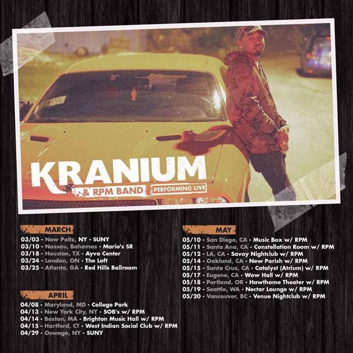 Kranium @ The Orange Peel - Asheville, NC