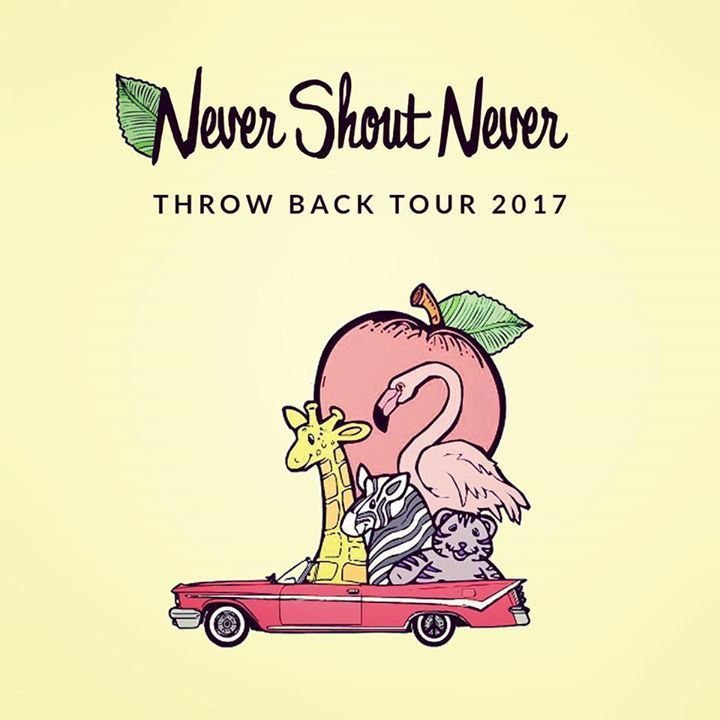 Never Shout Never Tour Dates