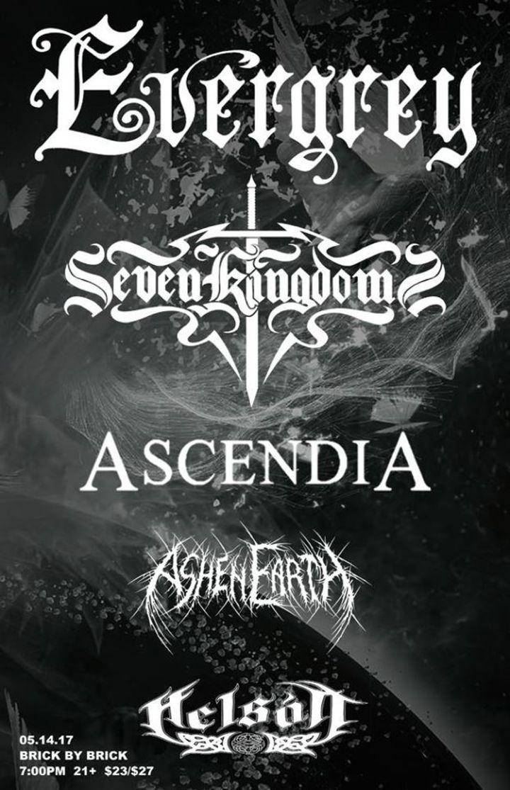 Ashen Earth Tour Dates