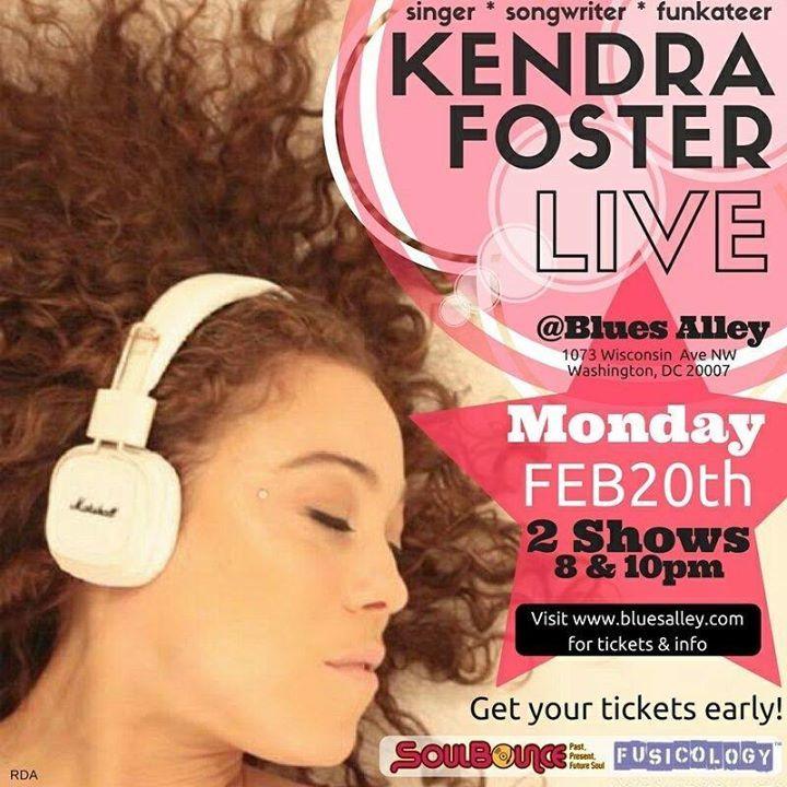 Kendra Foster Tour Dates