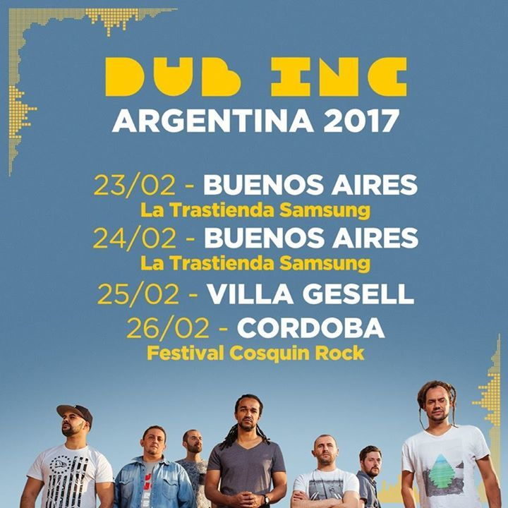 Dub Inc Tour Dates