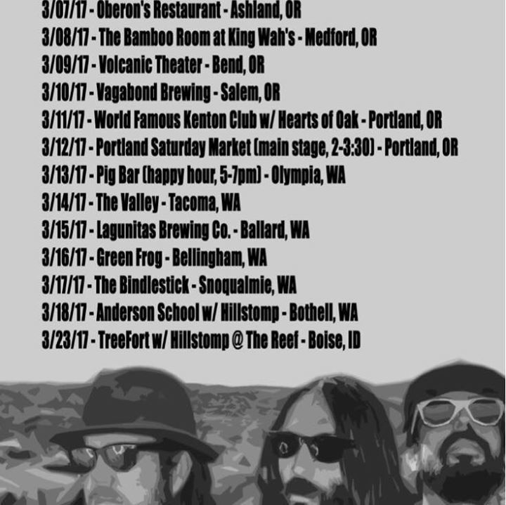 Jonathan Warren and The Billy Goats Tour Dates