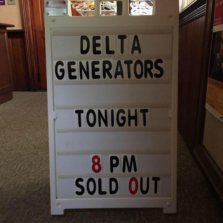 THE DELTA GENERATORS Tour Dates