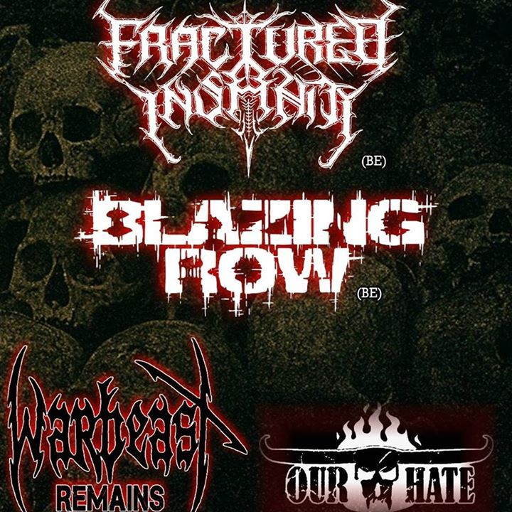 Fractured Insanity Tour Dates
