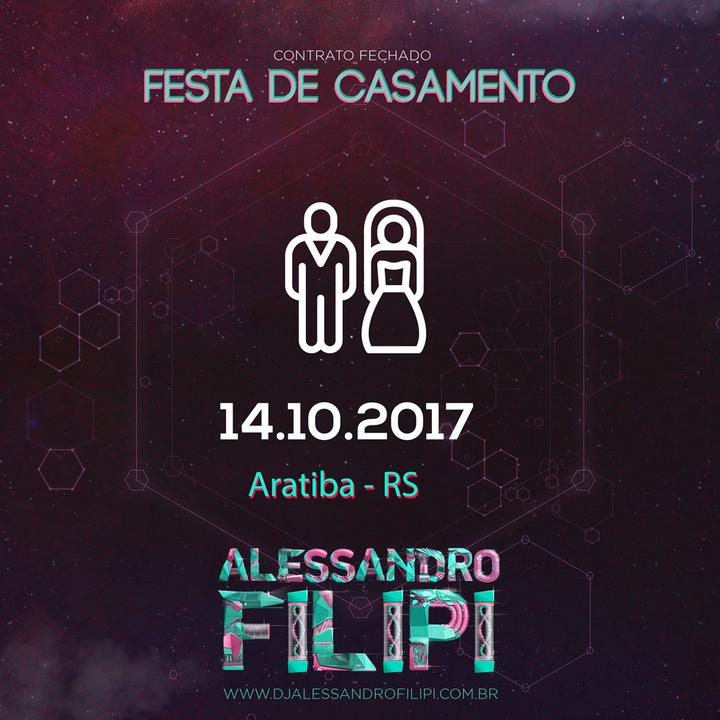 Dj Alessandro Filipi @ Clube Aliança - Aratiba, Brazil