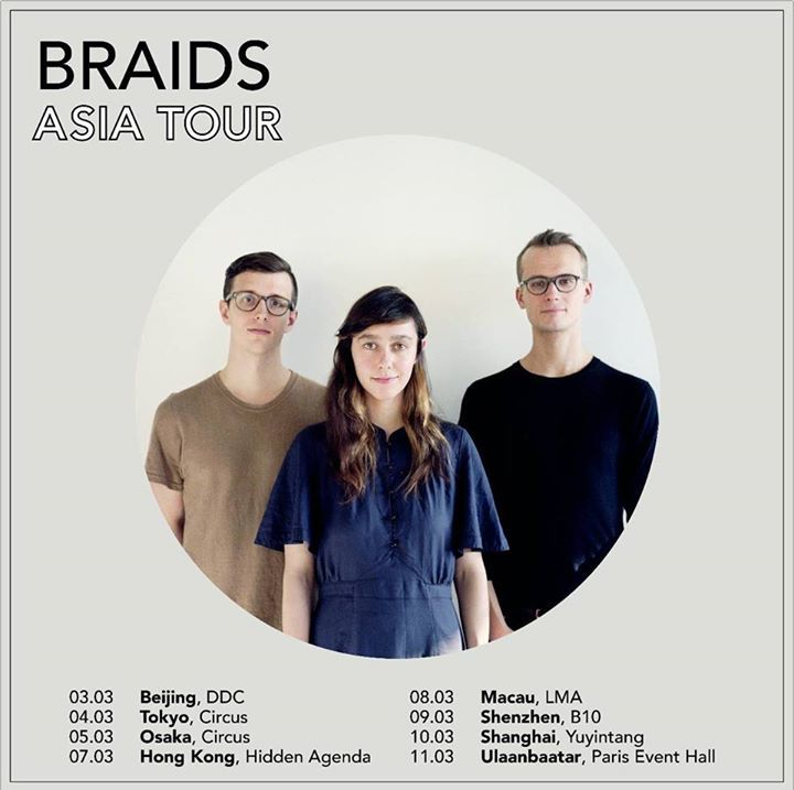 Braids Tour Dates