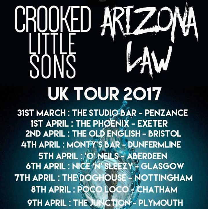 Arizona Law Tour Dates