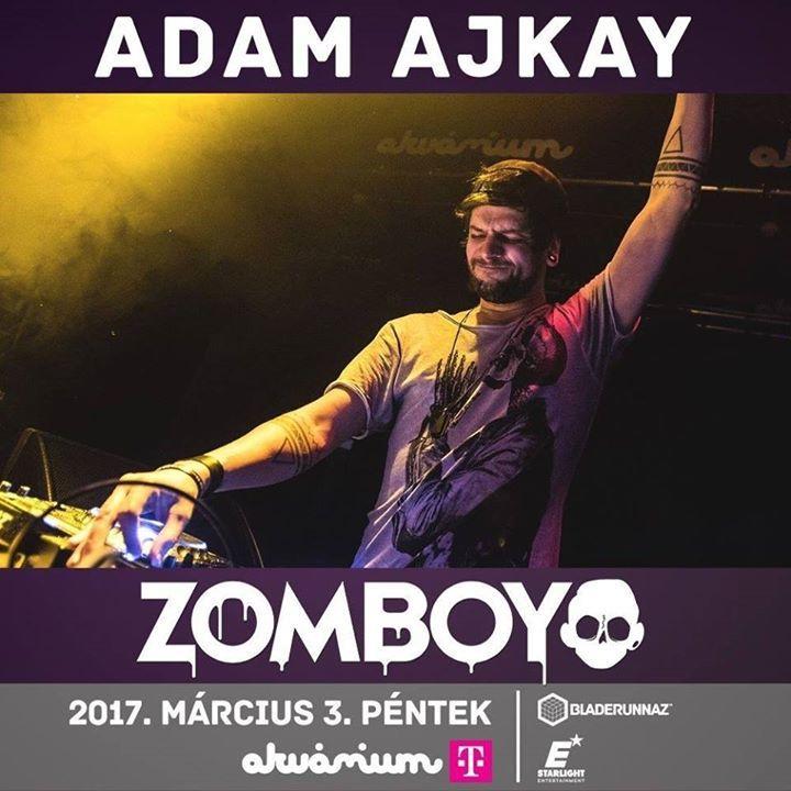 Adam Ajkay Tour Dates