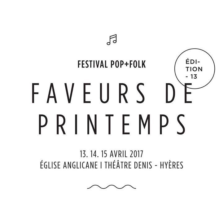 Festival Faveurs de Printemps Tour Dates