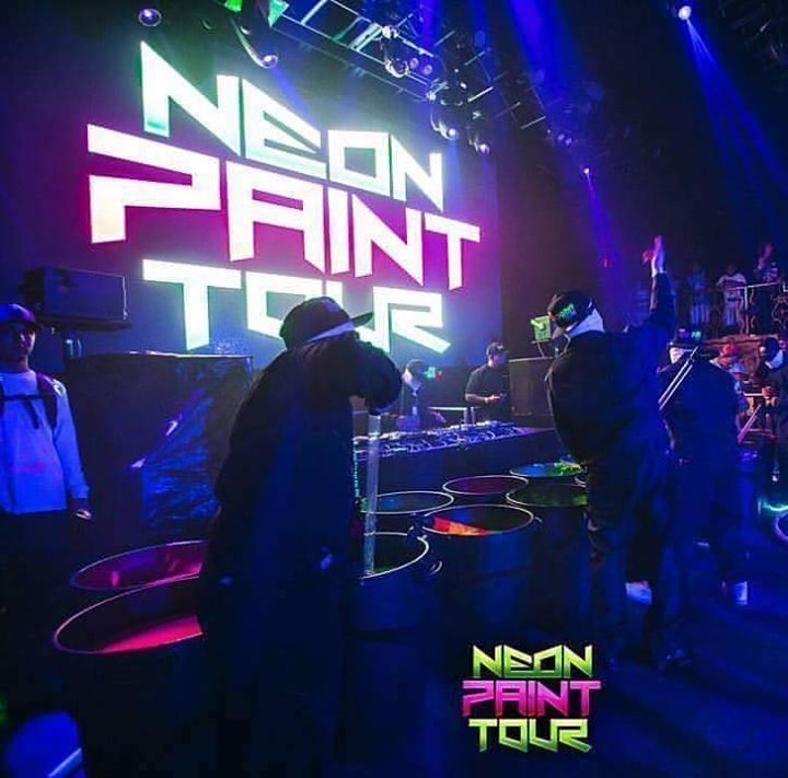 THE NEON PAINT TOUR @ The Belasco Theater - Los Angeles, CA