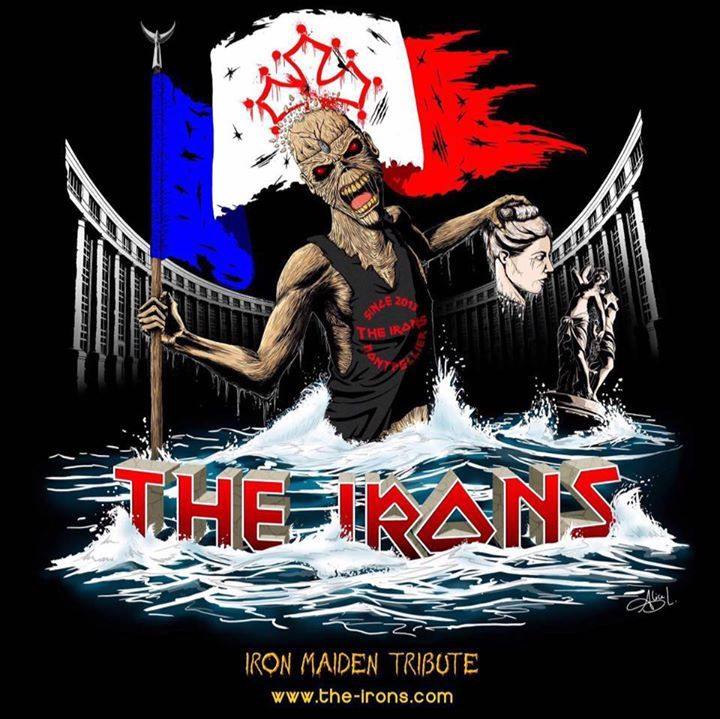 The Irons - Iron Maiden Tribute @ The Oliver pub  - Lattes, France