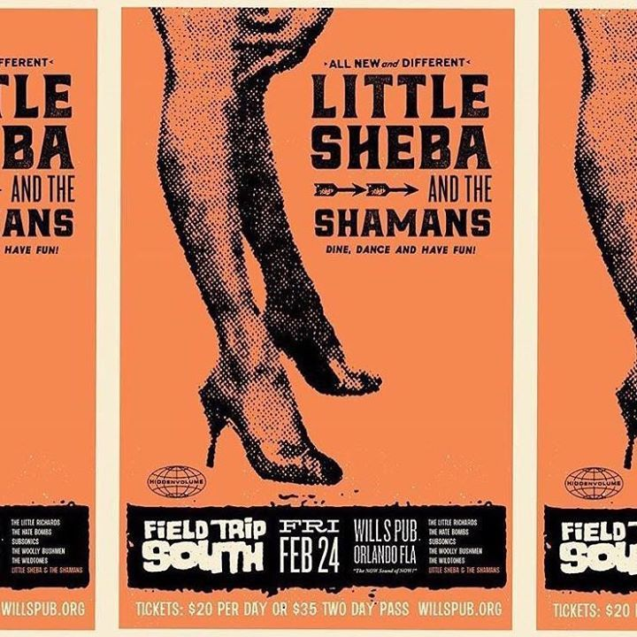 Little Sheba and the Shamans Tour Dates