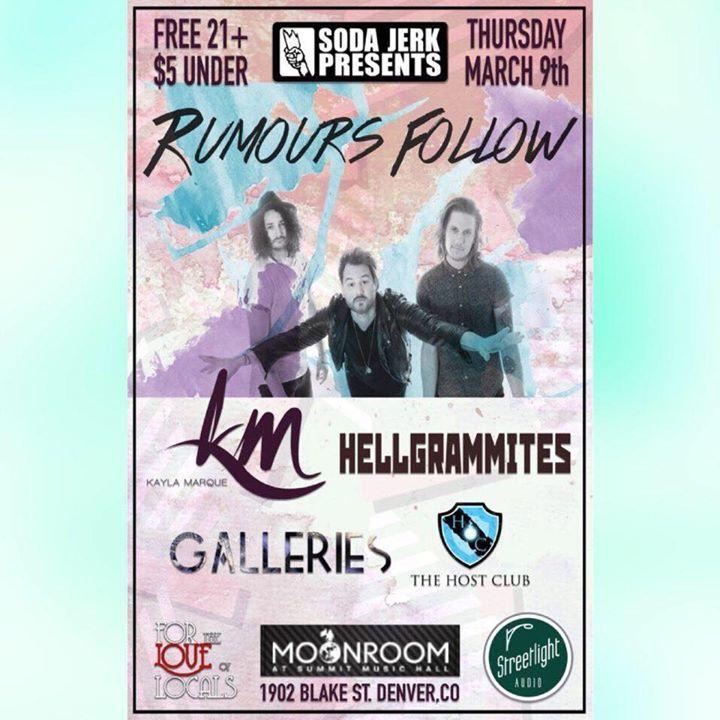 Rumours Follow Tour Dates