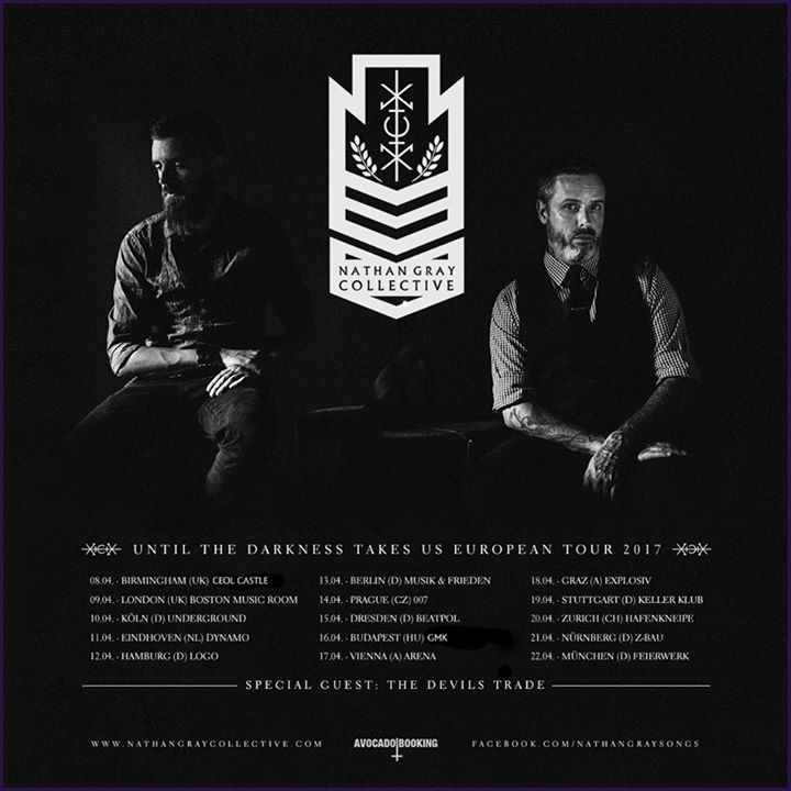Nathan Gray Collective Tour Dates