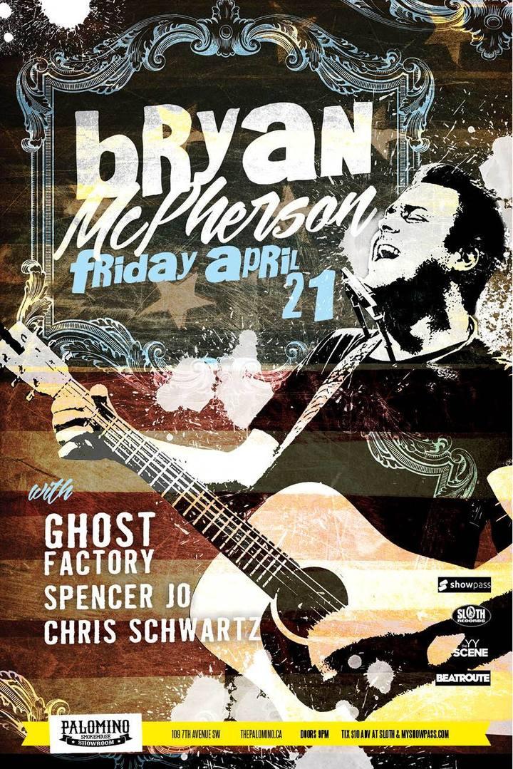 Bryan McPherson @ The Palomino - Calgary, Canada