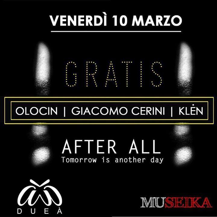 Giacomo Cerini Official Tour Dates