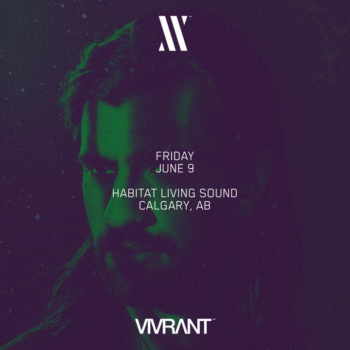 Jeremy Olander @ Habitat Living Sound - Calgary, Canada
