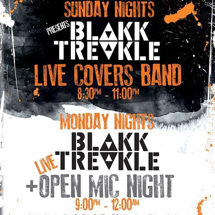 Blakk Treakle Tour Dates
