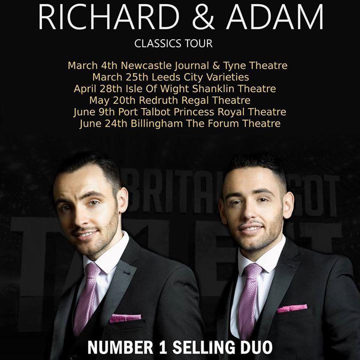 Richard and Adam Tour Dates