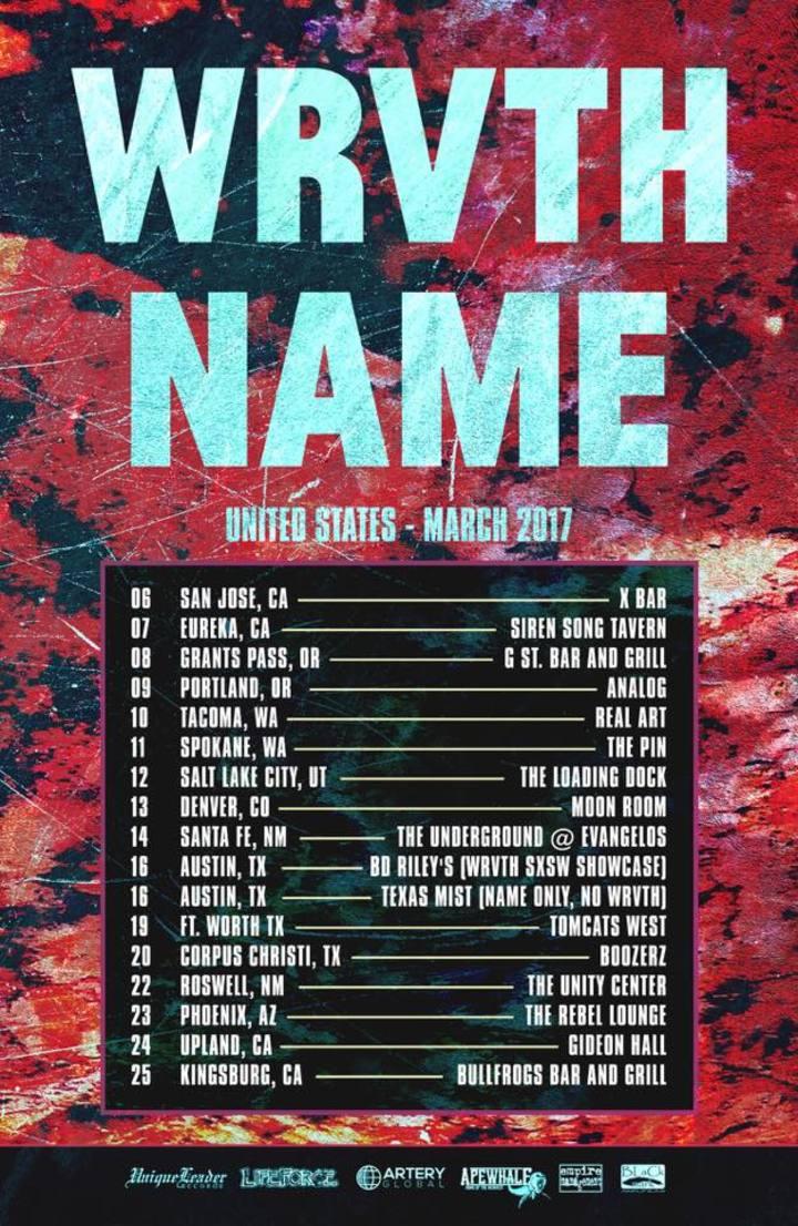 WRVTH Tour Dates