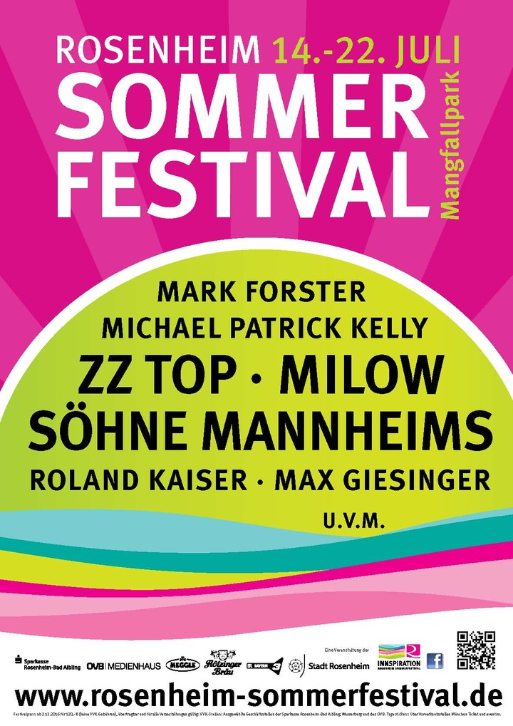 Milow @ Mangfallpark - Rosenheim, Germany