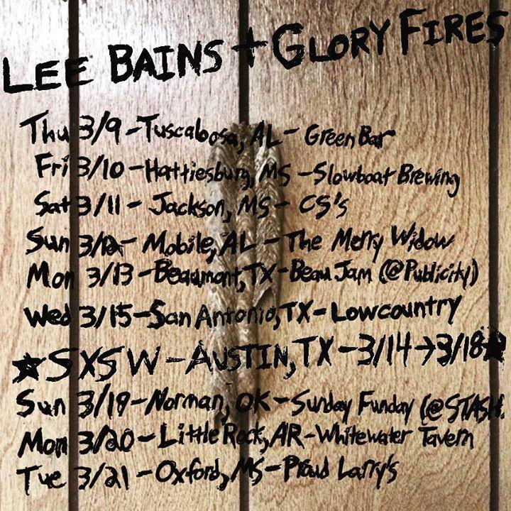 Lee Bains III & The Glory Fires @ Blaest - Trondheim, Norway