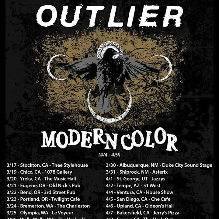 Outlier Tour Dates