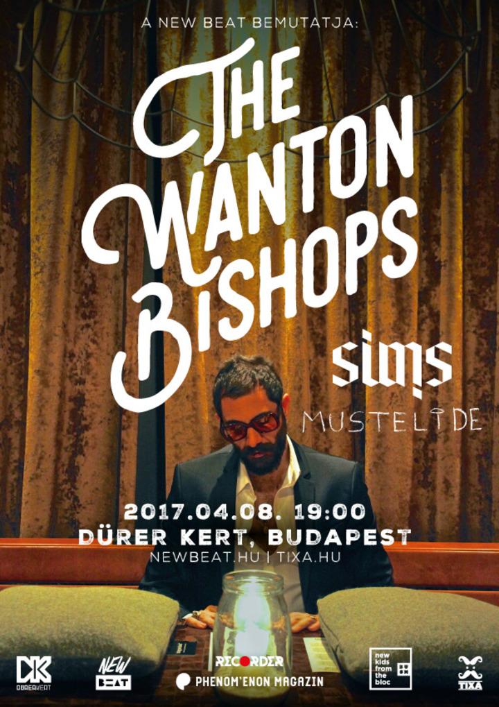 The Wanton Bishops @ Dürer Kert - Budapest, Hungary