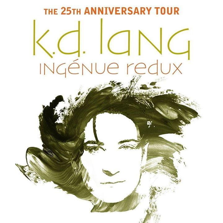 k.d. lang Tour Dates