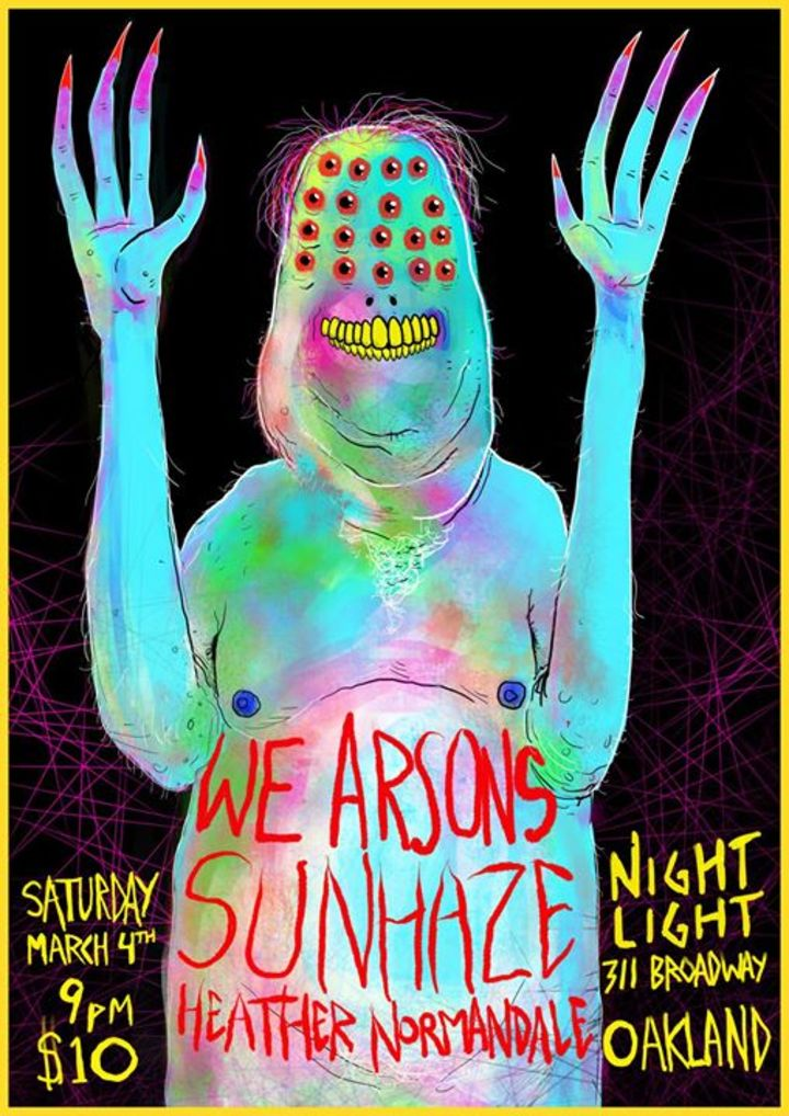 We Arsons Tour Dates