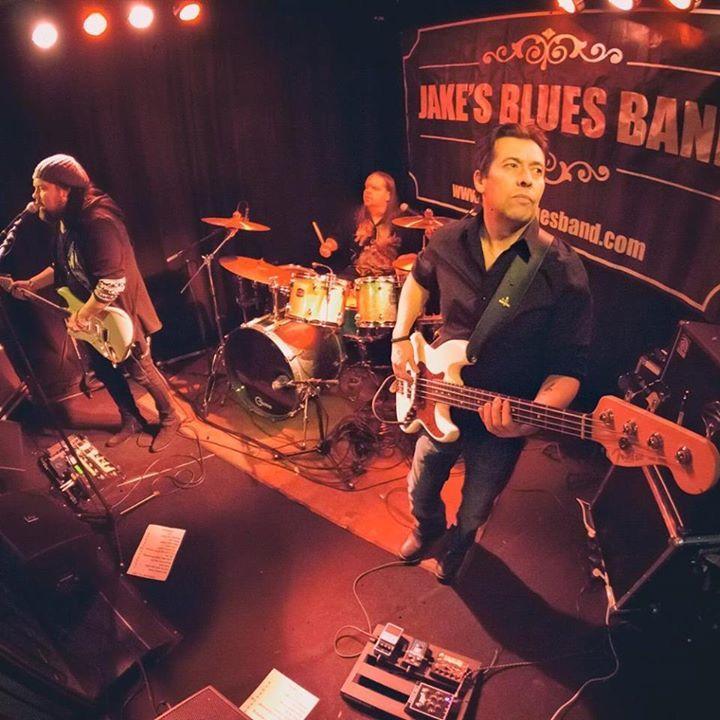 Jake`s Blues Band @ Wanhapankki , Root`s Club , Jake`s Blues Band feat.Hasse Walli - Hämeenlinna, Finland