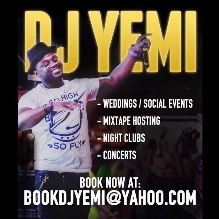 DJ YEMI Tour Dates