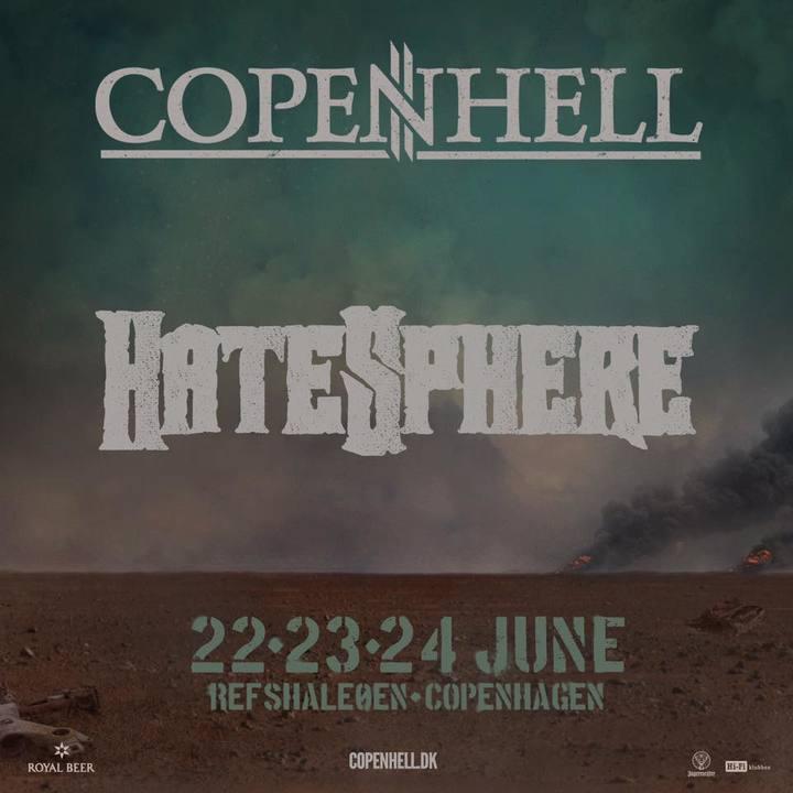 Hatesphere @ Copenhell - Copenhagen, Denmark