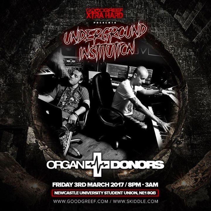 Organ Donors Tour Dates