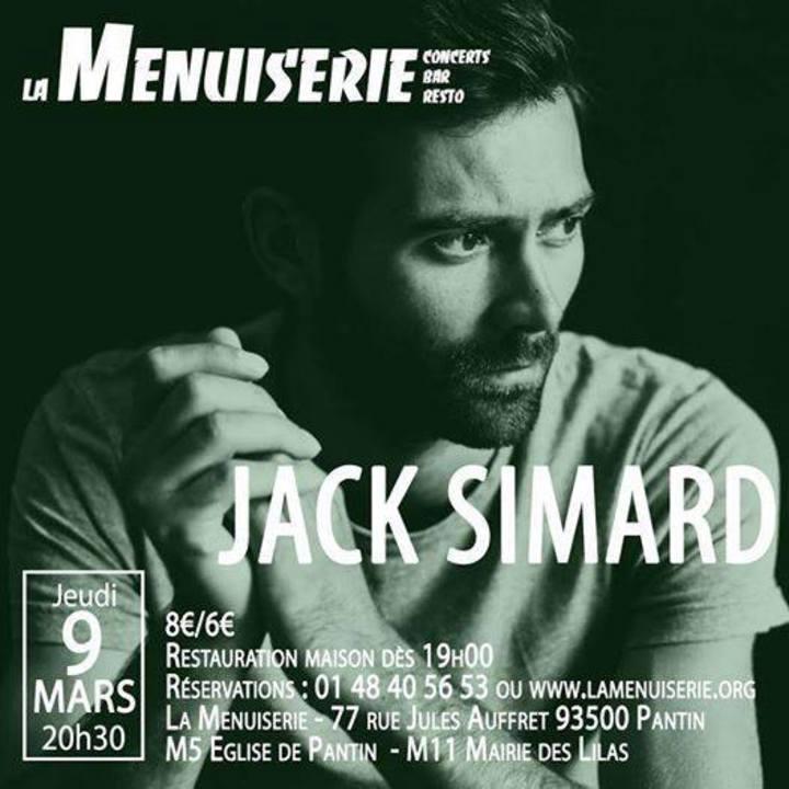 Jack Simard Tour Dates
