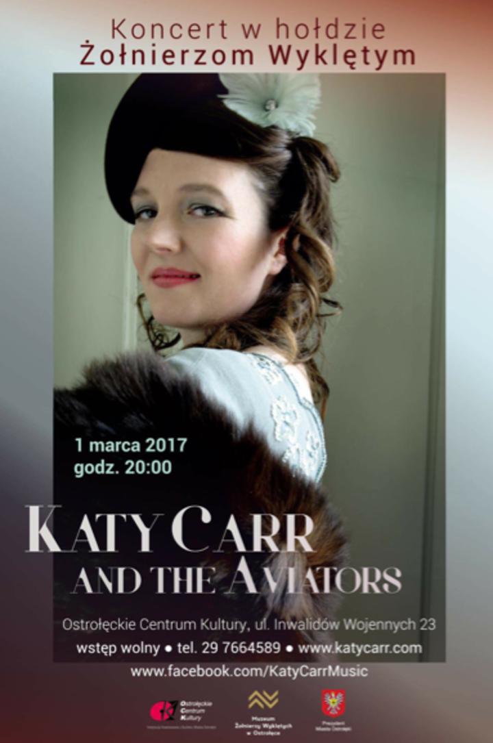 Katy Carr @ Ostrołęckim Centrum Kultury - Ostrołęka, Poland