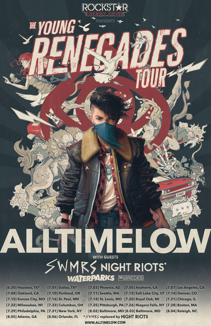 all time low - houston concert tickets - all time low house of