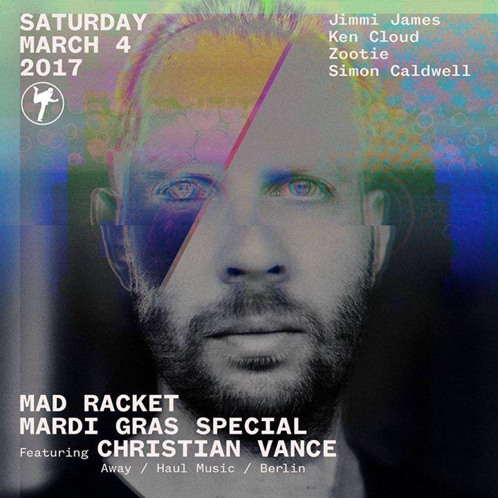 Christian Vance Tour Dates