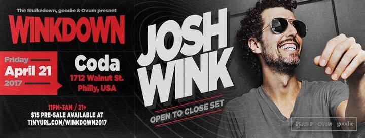 Josh Wink @ Coda - Philadelphia, PA