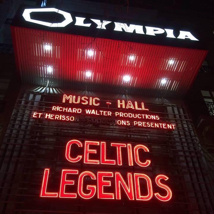 Celtic Legend Tour Dates