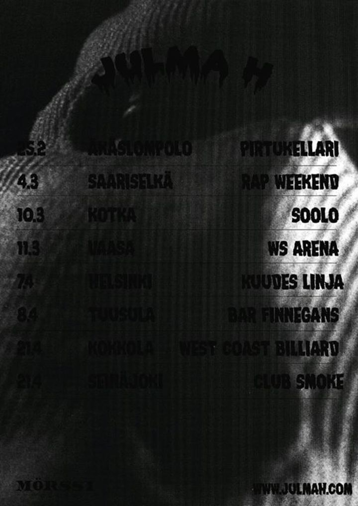 JULMA H Tour Dates