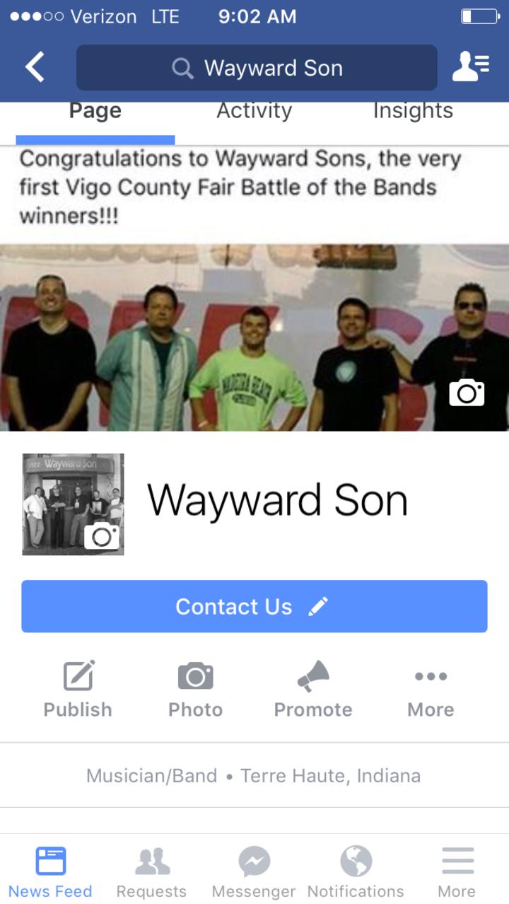 Wayward Son Tour Dates