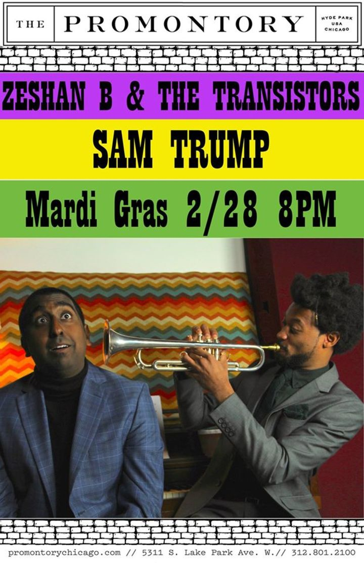 Sam Trump Tour Dates