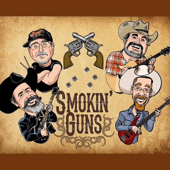 Smokin' Guns @ Rubie's Bar - Center Point, IA