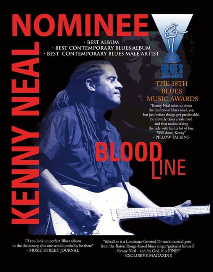 Kenny Neal Tour Dates
