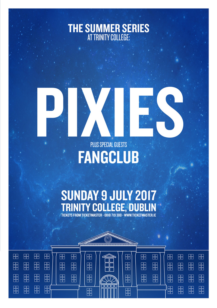 Fangclub @ Trinity College Park (Supporting PIXIES) - Dublin, Ireland