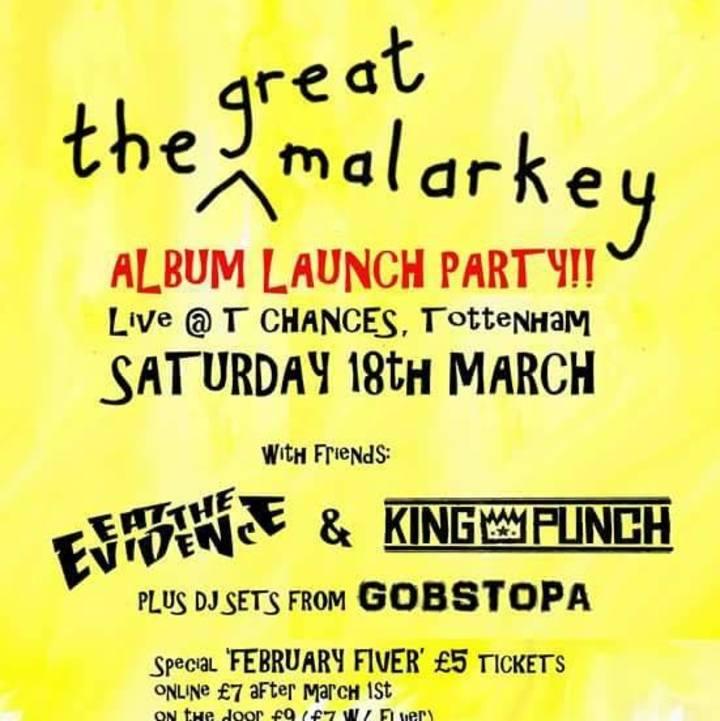 The Great Malarkey Tour Dates
