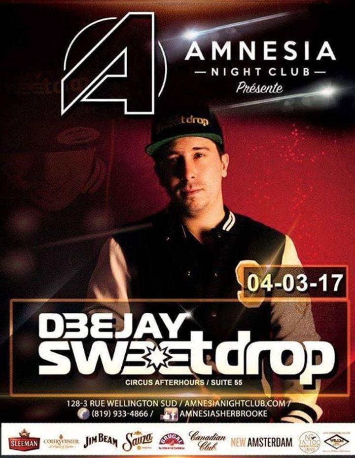 DJ Sweetdrop Tour Dates