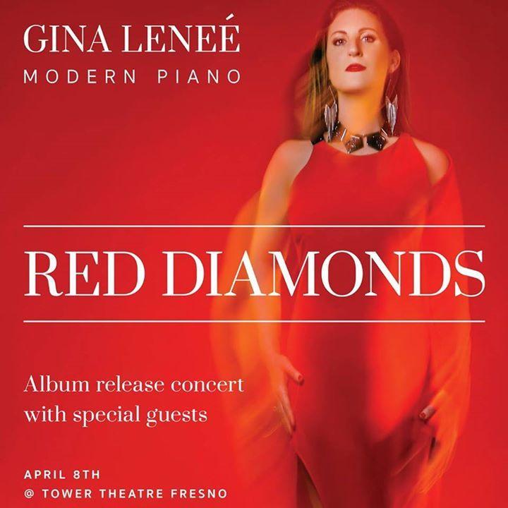 Gina Leneé, Composer/Pianist Tour Dates